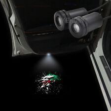 2pcs Joker Logo Car Door Welcome Lamp LED Laser Projector Ghost Shadow Light