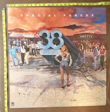 "Thirty Eight Special Poster,24x24"",Origin al,Record company promo,Special Forces"