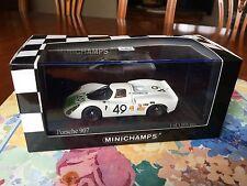 Minichamps Porsche 907, Car # 49. Sebring 12hr 1968. 1/43 scale die cast.