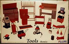 Garage & Tools Remix Werkstatt, Büro Werkzeuge, 1:24, Fujimi 114392