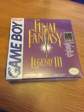 Game Boy Final Fantasy Legend III USA Factory Sealed H Seam Free Uk Postage