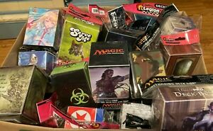 Lot of 15 New Legion and Ultra Pro Deck Boxes. Magic the Gathering Pokemon