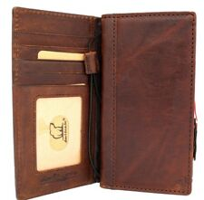 Genuine real leather case fo LG V40 book cards wallet slim cover luxury V 40 G