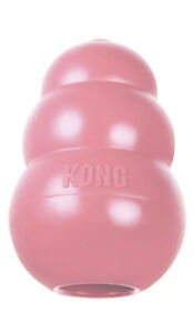 KONG Puppy Small Rubber Chew Toy Treat Dispenser Pink FAST & FREE POSTAGE