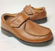 Florsheim Comfortech Brown Leather Loafers Slip on Mens Size 7 D 18399-03