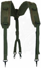 USGI Army ALICE Y-SUSPENDERS * LC-2 OD Green Load Bearing * Genuine Military