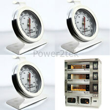 3x Daewoo Oven Thermometer Stainless Steel Oven Cooker Temperature NEW