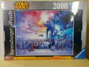 NEW Ravensburger 2000 pc Star Wars Universe Jigsaw Puzzle 16701