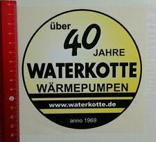 Aufkleber/Sticker: über 40 Jahre Waterkotte Wärmepumpen (18031650)