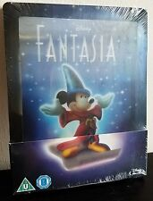 Disney Fantasia Blu-Ray UK Exclusive Limited Edition Steelbook Lenticular Magnet
