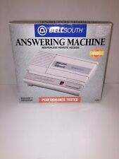 Vintage BellSouth Memento 1128N Micro-Cassette Answering Machine System NOS