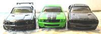Hot Wheels Dodge Challenger, Lot of 3, Loose, Version 1, See Description