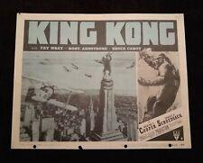 King Kong 1952R Lobby Card #3 Vintage Fay Wray Bruce Cabot Robert Armstrong