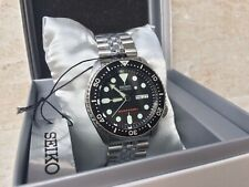 Seiko SKX007K2 Jubilee Black 7S26 Watch Diver UK EU Stock Prospex Monster Scuba