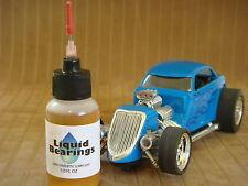 Liquid Bearings, BEST 100%-synthetic slot car oil for SCX Digital, PLEASE READ!