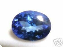 1.75ct 9x7mm Oval Tanzanite