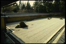145080 Famed Stone And Gravel Garden Of Ryoanji Temple A4 Photo Print