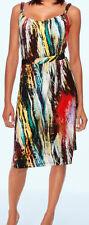 Sommerkleid Trägerkleid bunt Gr.38  MIMOSKA HEINE fröhlich Kleid NP 60€
