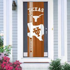 """Texas Longhorns Door Banner 84"""" [New] Ncaa Flag Sign Uv Adjustable Cdg"""