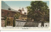 Sulpice Seminary, Montreal, Canada. Year 1934.  Vintage Postcard