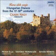 Hungarian Dances from the 17th/18th Cent, New Music