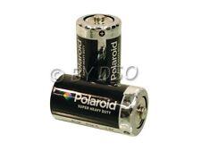2 x Polaroid C Size Heavy Duty Battery