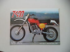 advertising Pubblicità 1977 MOTO TGM 125 R