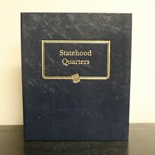 Whitman Classic Coin Album Statehood Quarters 1999-2008 Missing 6 Coins 9176
