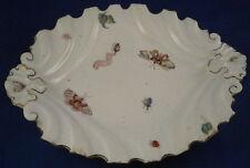 Antique 18thC Chelsea Soft Paste Porcelain Silver Shaped Dish Porzellan Schale