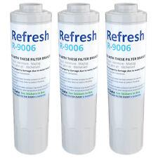 Refresh Water Filter - Fits KitchenAid KRFC300EWH Refrigerators (3Pack)