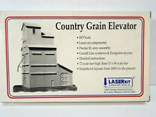 More details for ho scale laser kit country grain elevator nos new mib (k547)