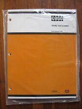 Case 1816C Uni-Loader Parts catalog Manual NEW OLD STOCK