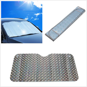 1Pc Laser Sunshade Visor Sun Protection Cover Universal Fit For Car Front Window