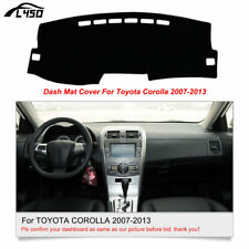 1× DashMat Dashboard Cover For Toyota Corolla 2007 2008 2009 2010 2011 2012 2013