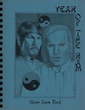 "Star Trek TOS Fanzine ""Year of the Ram""  SLASH Novel"