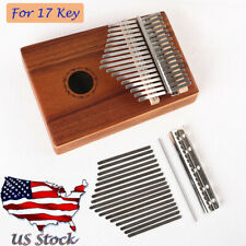 Kalimba African Mbira Thumb Piano Replacement 17 Keys Musical Instruments Parts