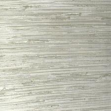 Fine Décor - Lycaste Ivory , Green & Beige Textured Striped Wallpaper - FD24418