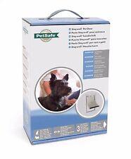 Staywell Petsafe Heavy Duty Aluminium Pet Dog Cat Door SMALL White