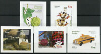 Portugal Madeira Stamps 2020 MNH Castles Cars Flowers Music Europa 5v S/A Set