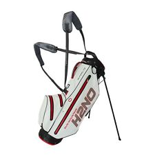 Sun mountain H2NO SuperLite Waterproof Stand Bag Black / White / Red Clearance