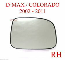RH RIGHT HAND SIDE DRIVER MIRROR GLASS LENS HOLDEN RODEO RA 2003 -2006 2004 2005
