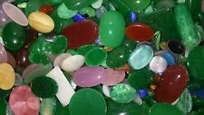 25 Large Assorted Glass Cabochons Mixed Lot  Great 4 Scrapbook, Jewelry & Crafts