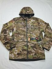 Under Armour Mens Hunting Jacket Size Small Brow Tine Camo X Storm Mid Season