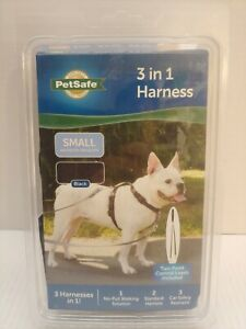 PetSafe 3-In-1 Dogs Harness - Small - Black