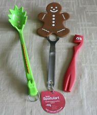 Children's Kitchen Utensils ~ Tovolo Spatula, Ikea Spork & Joie Oven-Pull ~ NEW