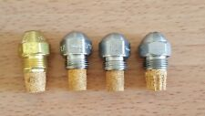 Lot Of 4 Oil Burner Nozzle 1 Delavan 60  2 Steinen 1.25 & 1 Hago 1.25  NOS