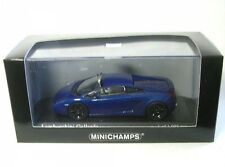 Lamborghini Gallardo 2006 Blue Metallic Die cast 1 43 Minichamps 400103505 R