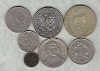SEVEN POLAND 1929 TO 1989 IN VERY FINE OR BETTER CONDITION