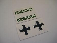 Dinky 617 - German Vw Kdf Stickers - B2G1F
