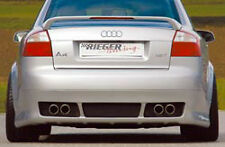 AUDI A4 B6 Genuine OEM Rieger Rear Bumper Apron In Primer ABS Plastic Brand New